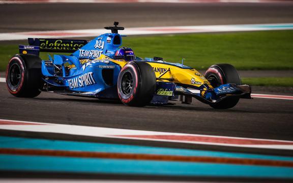 F1 testing Fernando Alonso of Williams 2020.