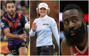 Cameron Smith, Jin Young Ko and James Harden for Hamish Bidwell 2020 piece.