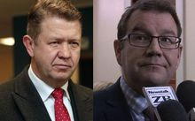 David Cunliffe and Grant Robertson.