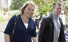 Karen Price and David Cunliffe.