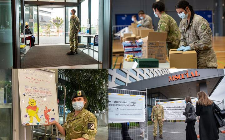 The NZ Defence Force has been called in to help with many areas of the government's Covid response, including at the country's managed isolation facilities.