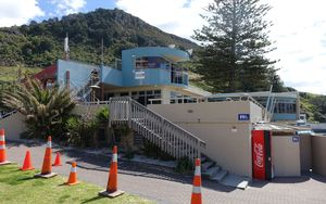 Search headquarters at Mount Maunganui.