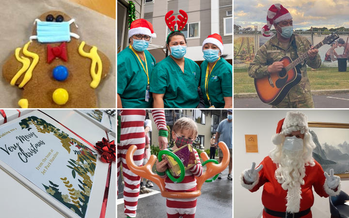 Christmas in managed isolation facilities.