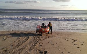 Surf Life Savers resuming the search this morning.