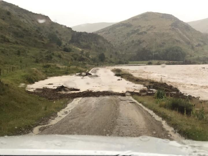 Flooding in Otago