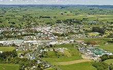 An aerial view of Eltham.