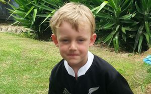 Jack Dixon who was swept out to sea off Mt Maunganui.