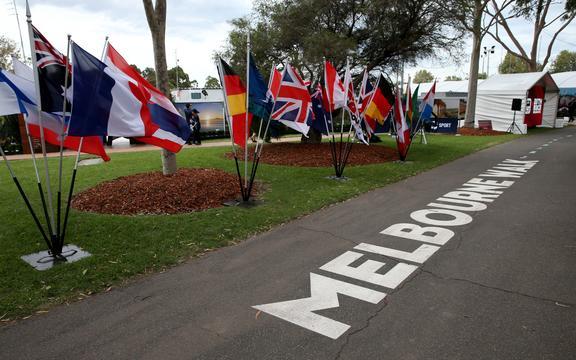 Empty Melbourne Walk. 2020 Formula 1  Australian Grand Prix. Albert Park Circuit, Melbourne.