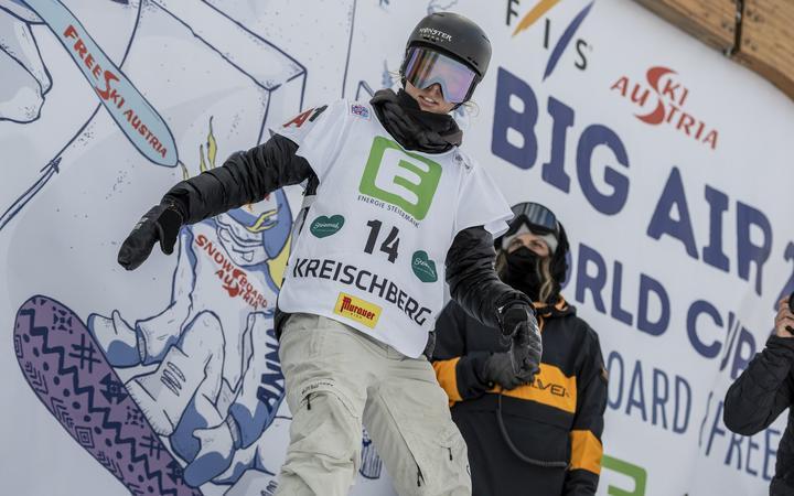 Choi Sadovsky-senatets aksjon på FIS-verdensmesterskapet i Greisburg.