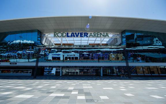 Rod Laver Arena, Australian Open Tennis, Melbourne.