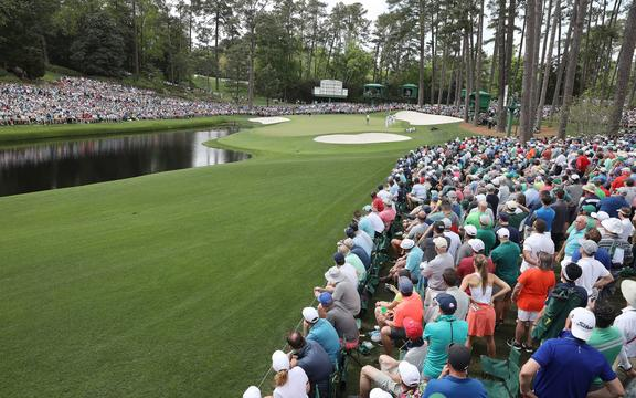 Augusta National 16th hole, US Masters.