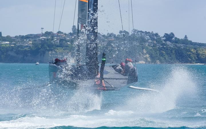 America's Cup challenger Team UK