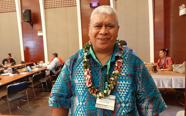 The director of the Cook Islands Metservice, Arona Ngari