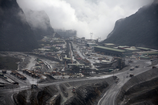 Freeport mine, Indonesia, Papua