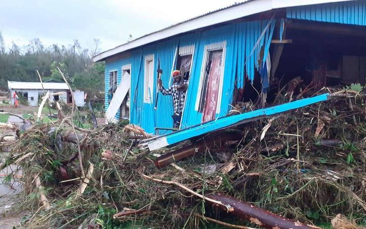 Cyclone-devastated Fiji village opts to rebuild elsewhere