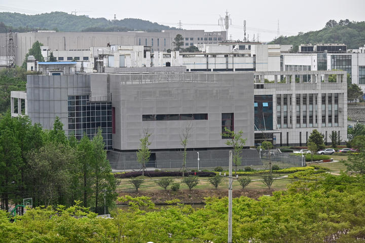 The P4 laboratory at the Wuhan Institute of Virology in Wuhan, China, in April 2020. The facility is among a handful around the world cleared to handle Class 4 pathogens that pose a high risk of person-to-person transmission.