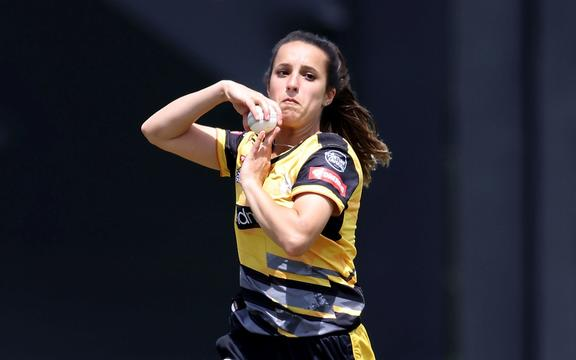 Wellington cricketer Xara Jetly.
