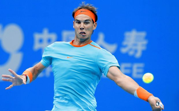 Rafael Nadal's been knocked out in the quarters in Beijing