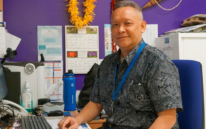 Dr Andrew Chan Mow is the clinical director at South Seas Healthcare in Ōtara