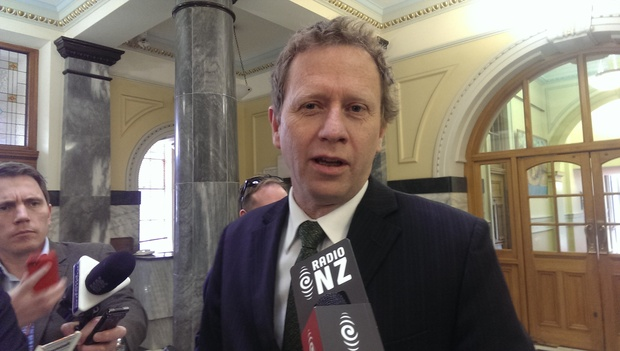 Green Party co-leader Russel Norman speaks to media after the official election results.