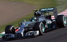 Grand Prix Formula One Japan 2014.Nico Rosberg (GER), Mercedes.