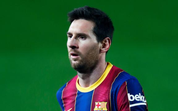 Lionel Messi of Barcelona.