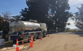 Water tankers for Waikouaiti and Karitane after high lead levels in water