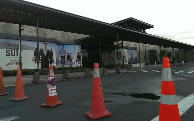 The Sylvia Park shopping centre was closed.