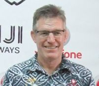 Flying Fijians rugby coach John McKee