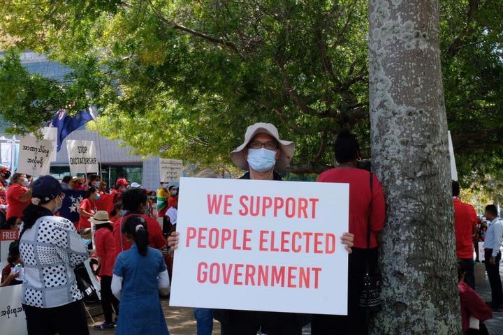 Myanmar community members gather in Auckland