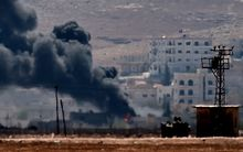 Kobane is under renewed assault.