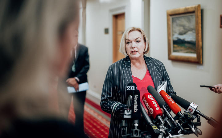 National Party leader Judith Collins
