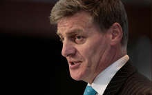 Finance Minister Bill English releasing the Government financial statements