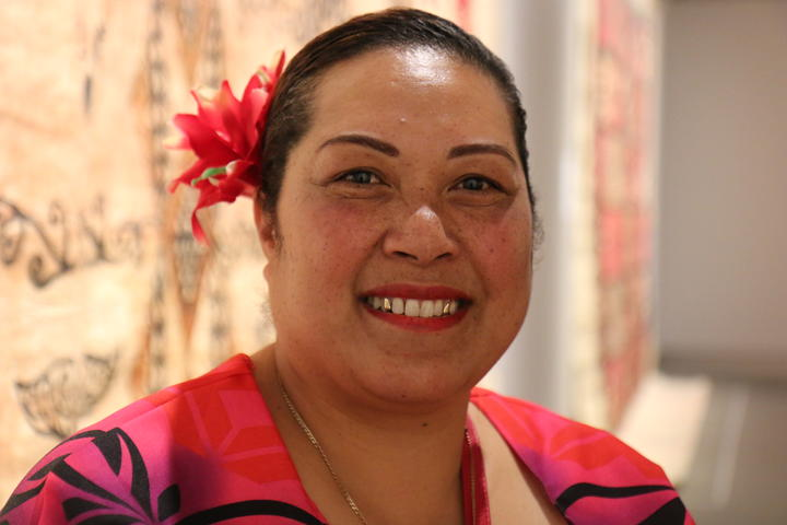 Mele Kaufo'ou Katoa-Taulata one of the founding members of the Akomai Heritage group.