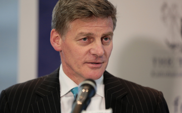 Finance Minister Bill English releasing the Government financial statements.