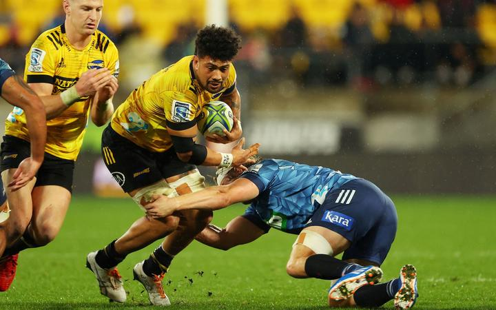 Ardie Savea, Hurricanes v Blues. Super Rugby Aotearoa, Sky Stadium, Wellington, New Zealand, Saturday 18 July 2020. © Copyright Photo: Marty Melville / www.photosport.nz