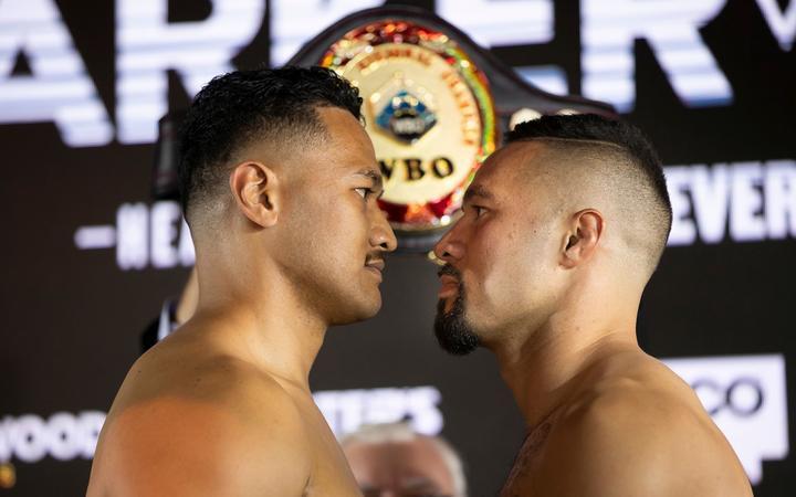 Reside heavyweight boxing: Joseph Parker v Junior Fa
