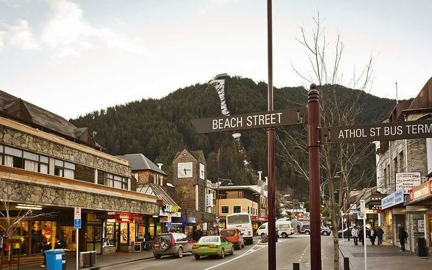 Queenstown is being threatened by changing visitor types, shopping centres and locals spending elsewhere.