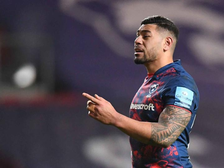 Former All Black Charles Piutau is among a host of Pacific Island rugby stars playing for Bristol.