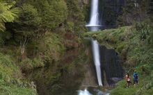 The Hunua Falls. The area's ranges and ponds supply about two-thirds of Auckland's water.