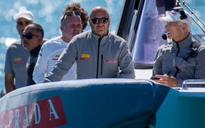 Max Sirena says if Team New Zealand opt for twin-helmsman it will take them time to adjust.