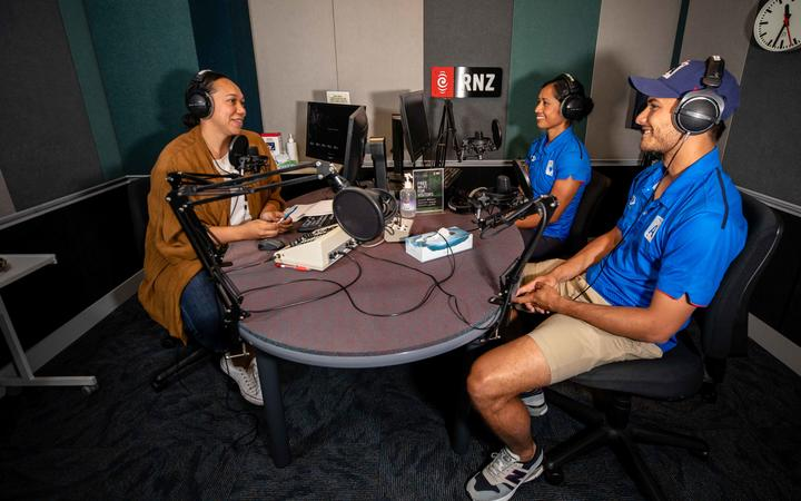 Auckland and Samoa cricketers Regina Lili'i and Sean Solia speak with Talei Anderson.