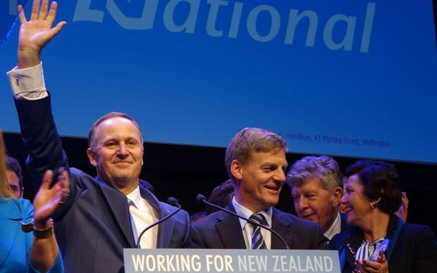 John Key and Bill English.