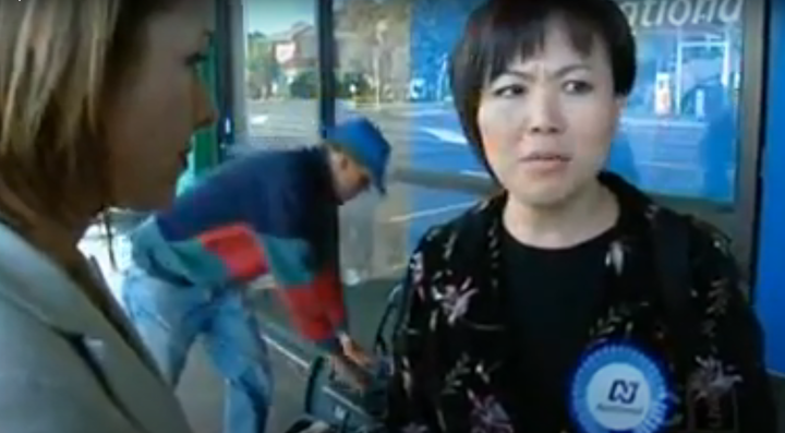 Melissa Lee confronted by Campbell Live in 2008 about receiving NZ on Air funding for TV programmes while she was an MP in the National-led government.
