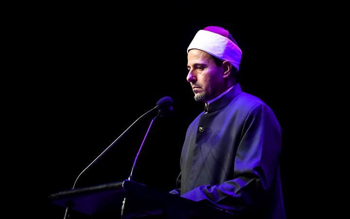 Imam Gamal Fouda ofMasjid An Nur. March 13, 2021, Christchurch.