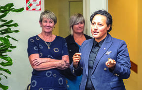 Minister for Emergency Management Kiri Allan met with first responders to hear their thoughts on how the Whakatane tsunami evacuation went last week.