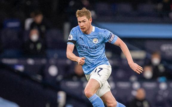 Kevin De Bruyne de Manchester City