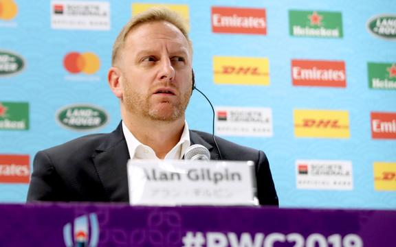 Alan Gilpin, director ejecutivo de World Rugby.