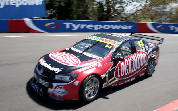 Fabian Coulthard rips around Mount Panorama