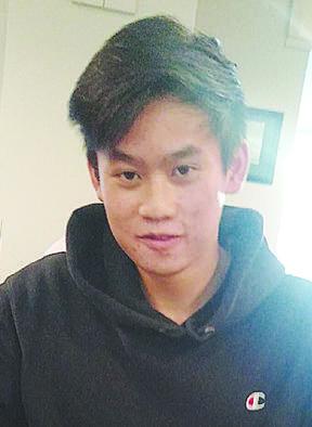 Fletcher Wong, 19, from Wellington.
